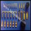 중국 공장 (HS-DZ-0021)에서 O 유형 단말기 클립의 모든 종류