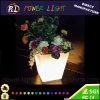 Potenciômetro colorido quadrado recarregável da planta do diodo emissor de luz da mobília do jardim