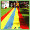 Rotes Running Track Artificial Grass für Kindergarten mit Different Color