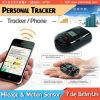PT100 GPS persönlicher Verfolger-Telefon-Aufruf-schneller Vorwahlknopf-/Datenlogger-Meilenzahl-/Shock-Sensor grosses PAS