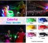 Armband-Glühen-SteuerknüppelWristband des Partei-Ereignis-LED blinkender