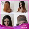 똑바른 Ombre Black 또는 브라운 Synthetic Lace Front 바브 Wig