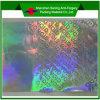 etiquetas engomadas de la seguridad del holograma del laser 3D con masaje de encargo