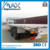 2 차축 80-100t Dolly Flat Lowbed Semi Trailer