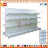 Doppio scaffale di negozio parteggiato personalizzato Manufactured del supermercato (Zhs491)