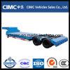 Cimc 2 Axles низкий кровати трейлер Semi
