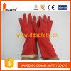 Перчатка домочадца латекса красного цвета Ddsafety 2017