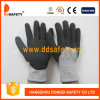 Отрежьте перчатки безопасности покрытия нитрила перчатки сопротивления (DCR441)
