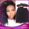 アフリカのねじれた巻き毛のブラジルのバージンの人間の毛髪の織り方