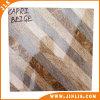 Azulejo de suelo de cerámica de la raya del material de construcción del mármol de la porcelana brillante de la mirada