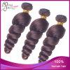 ロマンスのカール100%のブラジル人のバージンの人間の毛髪の織り方