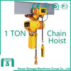 Shengqi 2016 1 Ton Electric Chain Hoist con Hook Block