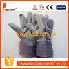 Ddsafety 2017 серых перчаток PVC с задней частью нашивки