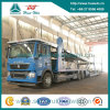 Sinotruk HOWOの自動車運搬船のトラックの中心の車軸自動車運搬船車の輸送のトラック