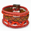 Mischfarben-handgemachtes Böhmen-multi Armband
