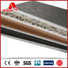 Panel de revestimiento compuesto de aluminio incombustible de la pared A2