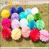 Bolas coloridas del panal del papel de tejido para la decoración de la boda