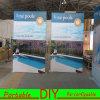 Знамя выставки торговой выставки DIY ткани нестандартной конструкции портативное модульное