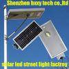Angeschaltene Straßenlaternesolar der Energie-LED