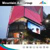 Pantalla de visualización al aire libre de LED del vídeo de la echada P16 del pixel a todo color