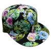 Gorra de béisbol floral de la tela de la manera con el Snapback Sb1596