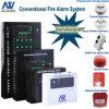 Sistema di controllo sincrono del segnalatore d'incendio di incendio di obbligazione domestica
