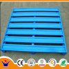 Pálete de aço resistente azul/verde para bens