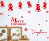 Stickers van de Muur van Kerstmis van pvc de Vrolijke (HA52010)