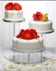 中国のCake Stand Display Manufacturer著アクリルのCake Display Shelf Provided