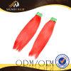 브라질 Red Color Full 및 Silky Straight Hair
