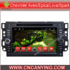Lettore DVD dell'automobile per il lettore DVD di Pure Android 4.4 Car con A9 il CPU Capacitive Touch Screen GPS Bluetooth per Chevrolet Aveo/Epica/Lova (AD-7107)