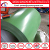 Зеленая катушка цвета PPGI стальная для пользы толя