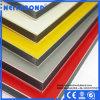 Material/el panel compuestos del revestimiento de la pared de la tarjeta del tiempo/plásticos de aluminio usado en Reino Unido