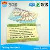 カスタマイズされた印刷されたプラスチックPVC挨拶状のギフトの会員証