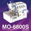 De alta velocidad, Overlock/máquina de coser de Juki de la serie de la máquina Mo-6800s de la puntada de la seguridad