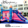 Pink inflable Princess Jump y Slide (BMBC45)