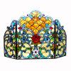 Pantalla de fuego hecha a mano de Tiffany (AT00594)