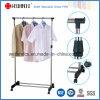 Регулируемый стеллаж для выставки товаров тенниски Одиночн-Штанги DIY стальной для магазина одежды