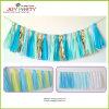 Borla del papel de tejido para la decoración del cumpleaños