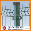 El PVC cubrió la cerca soldada seguridad del acoplamiento de alambre 3D