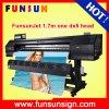 Impressora solvente grande de Funsunjet Fs-1700k Eco do preço de disconto com Epson Dx5 1440dpi principal