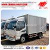 4X2 de Vrachtwagen van de Container van het Wiel van de aandrijving met 4 Meters van het Lichaam van de Doos