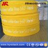 Tubo flessibile di gomma di Layflat di colore giallo