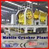 China Mobile-Zerkleinerungsmaschine für den beweglichen Kiefer, der Pflanzenpreis zerquetscht