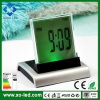 7colors Music Digital Clock Zeit Calendar Date Display 3*AAA Battery Power Supply LED Night Light Alarm Clock