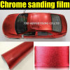 Chrome popolare Sanding Glitter Vinyl Film con Air Drains 1.52*30m