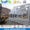 PVC Tent 15mx40m Transparent Aluminum с Glass Wall для Restaurant