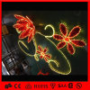 света украшения рождества и празднества цветка веревочки мотива 3D