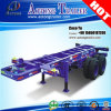 2 eixos 30tons 20 ' Skeleton Container Trailer Chassis