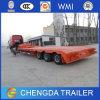Wellen des China-in den preiswerten Preis-3 80 Tonnen niedrige Bett-LKW-Schlussteil-Preis-gebildet
